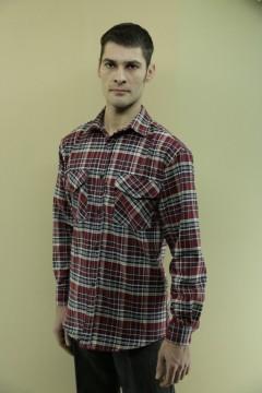 Рубашка муж. 2 кармана\фуле\
