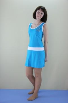 Платье женское мод. 03 \с апликацией\