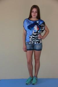 Футболка женская мод.011, масло