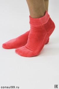 Носки велюровые женские