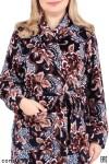 Халат женский - мод.23В, велюр