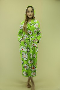 Халат женский - мод.31К, флис-махра