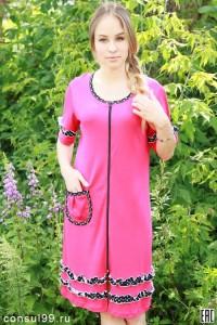 Халат женский - мод.18, интерлок