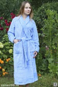 Халат женский - мод.12ГК, велсофт, ультрасофт