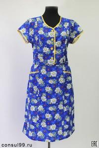 Платье женское из бязи, модель 02