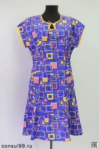 Платье женское из бязи, модель 03