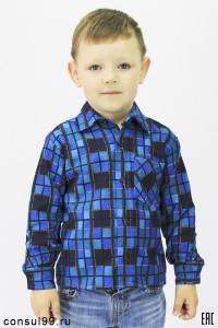 Рубашка детская (подростковая), фланель