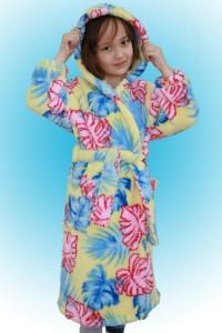 Халат детский запашной мод. ХД-1 \велсофт\