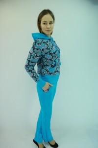 Костюм женский - мод.КС-07К футер 2-х нитка с лайкрой