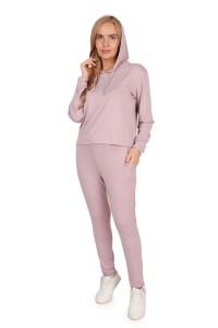 Костюм жен. трикотажный КДВ (вискоза) светло-розовый