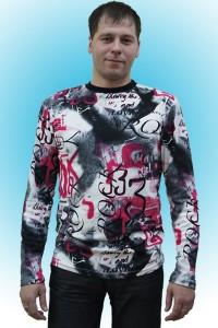 Толстовка мужская - мод.ТМ03, интерлок/пенье