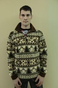 Толстовка мужская -  мод.ТМ 01В, флис