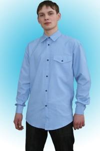 Рубашка рабочая длинный рукав