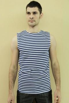 Майка мужская мод.03 полоска, кулирка