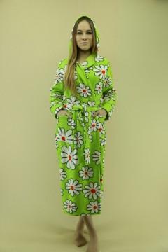 Халат женский - мод.31К \ флис-махра\