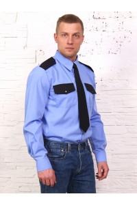 Рубашка охранника длинный рукав, под заправку