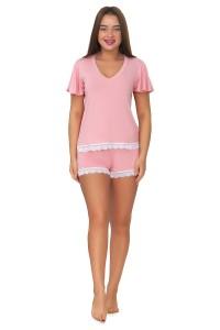 Пижама мод. 10, вискоза, розовый