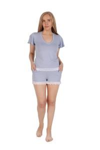 Пижама мод. 10, вискоза, нежно-голубой