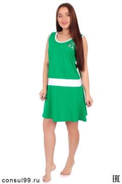 Платье женское мод. 03, с апликацией