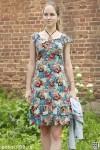 Платье женское мод.01, кулирка с вискозой, вискоза