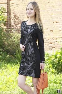 Платье женское мод.010 \джерси\