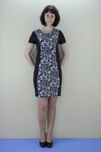 Платье женское мод.010 короткий рукав