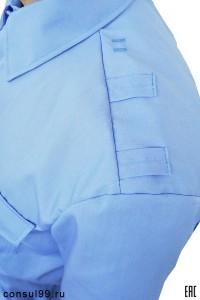 Рубашка охранника со шлевками