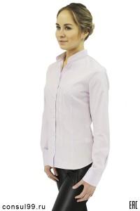 """Рубашка женская гладкокрашеная """"Кембридж"""""""