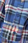 Рубашка мужская на подкладке, утепленная