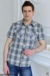 Рубашка молодежная приталенная мод.30