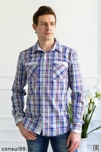 Рубашка молодежная приталенная мод. 35