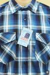 Рубашка мужская в клетку,  длинный рукав, 2 кармана, шотландка