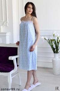 Сорочка ночная - мод.02БР, кулирка