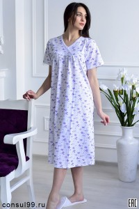 Сорочка ночная - мод.01 \кулирка\