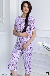 Пижама мод. 07, кулирка, маленькие размеры
