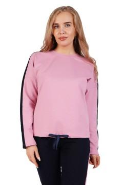 Толстовка женская нежно-розовая