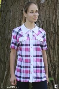 Блуза женская 01, кулирка