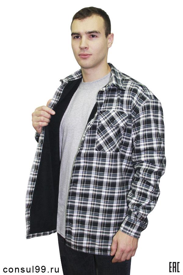cdb6c1f5d34 Рубашка мужская на подкладке